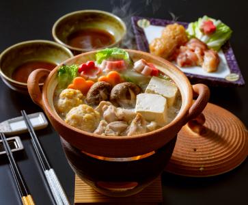阿波尾鶏水炊きセット